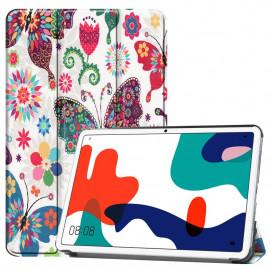 Tri-Fold Book Case Huawei MatePad 10.4 Hoesje - Vlinders
