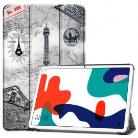 Tri-Fold Book Case Huawei MatePad 10.4 Hoesje - Eiffeltoren