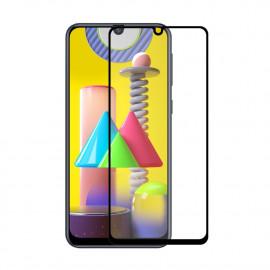 Full-Cover Tempered Glass Samsung Galaxy M31 / M21 - Zwart