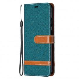 Denim Book Case Nokia 5.3 Hoesje - Groen
