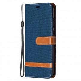 Denim Book Case Nokia 5.3 Hoesje - Blauw
