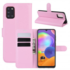 Book Case Samsung Galaxy A31 Hoesje - Pink