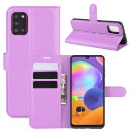 Book Case Samsung Galaxy A31 Hoesje - Paars