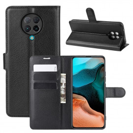 Book Case Xiaomi Poco F2 Pro Hoesje - Zwart