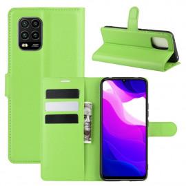 Book Case Xiaomi Mi 10 Lite 5G Hoesje - Groen