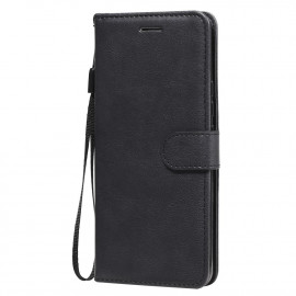 Book Case Xiaomi Mi 10 Lite 5G Hoesje - Zwart