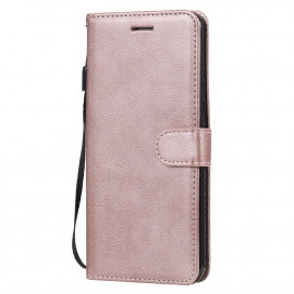 Book Case Xiaomi Mi 10 Lite 5G Hoesje - Rose Gold