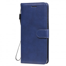 Book Case Xiaomi Mi 10 Lite 5G Hoesje - Blauw