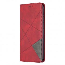 Geometric Book Case Nokia 5.3 Hoesje - Rood