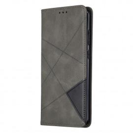 Geometric Book Case Nokia 5.3 Hoesje - Grijs