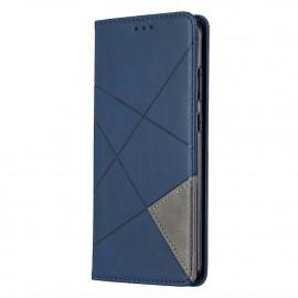 Geometric Book Case Nokia 5.3 Hoesje - Blauw
