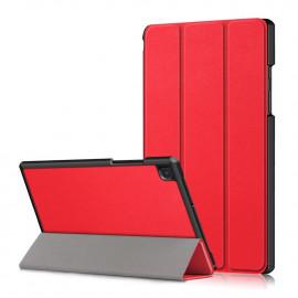 Tri-Fold Book Case Samsung Galaxy Tab A7 Hoesje - Rood