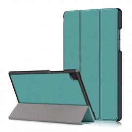 Tri-Fold Book Case Samsung Galaxy Tab A7 Hoesje - Groen