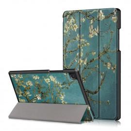 Tri-Fold Book Case Samsung Galaxy Tab A7 Hoesje - Bloesem