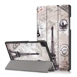Tri-Fold Book Case Samsung Galaxy Tab A7 Hoesje - Eiffeltoren