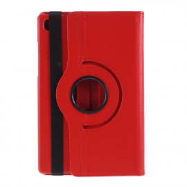360 Rotating Case Samsung Galaxy Tab A7 Hoesje - Rood
