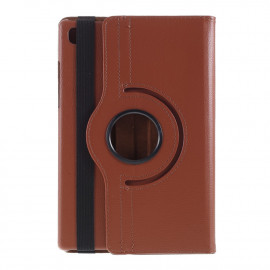 360 Rotating Case Samsung Galaxy Tab A7 Hoesje - Bruin