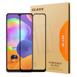 Full-Cover Tempered Glass Samsung Galaxy A31 - Zwart