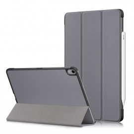 Tri-Fold Book Case iPad Air (2020) Hoesje - Grijs