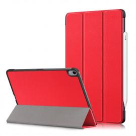 Tri-Fold Book Case iPad Air (2020) Hoesje - Rood