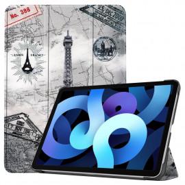 Tri-Fold Book Case iPad Air (2020) Hoesje - Eiffeltoren