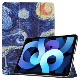Tri-Fold Book Case iPad Air (2020) Hoesje - Sterrennacht