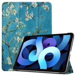 Tri-Fold Book Case iPad Air (2020) Hoesje - Bloesem