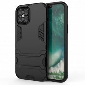 Armor Kickstand iPhone 12 Pro Max Hoesje - Zwart