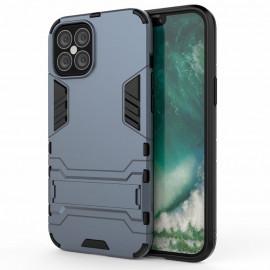 Armor Kickstand iPhone 12 Pro Max Hoesje - Blauw