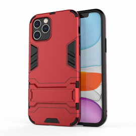 Armor Kickstand iPhone 12 / 12 Pro Hoesje - Rood