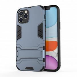Armor Kickstand iPhone 12 / 12 Pro Hoesje - Blauw