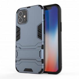 Armor Kickstand iPhone 12 Mini Hoesje - Blauw