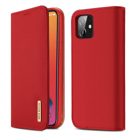 Dux Ducis Wish iPhone 12 Mini Hoesje - Rood