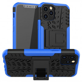 Rugged Kickstand iPhone 12 / 12 Pro Hoesje - Blauw