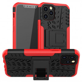 Rugged Kickstand iPhone 12 / 12 Pro Hoesje - Rood