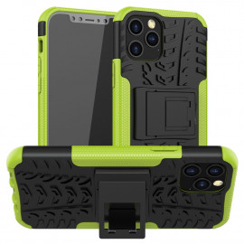 Rugged Kickstand iPhone 12 / 12 Pro Hoesje - Groen