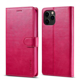 Luxe Book Case iPhone 12 Mini Hoesje - Roze