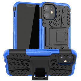 Rugged Kickstand iPhone 12 Mini Hoesje - Blauw