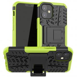 Rugged Kickstand iPhone 12 Mini Hoesje - Groen