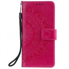 Bloemen Book Case Samsung Galaxy S20 FE Hoesje - Roze