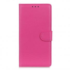 Book Case Motorola Moto G9 Plus Hoesje - Roze