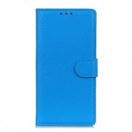 Book Case Motorola Moto G9 Plus Hoesje - Blauw