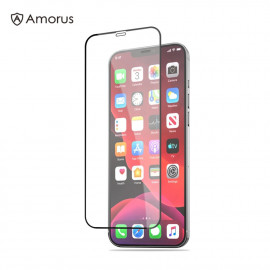 Full-Cover Tempered Glass iPhone 12 / 12 Pro - Zwart