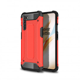 Armor Hybrid OnePlus Nord Hoesje - Rood