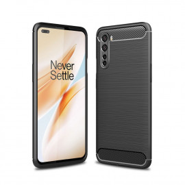 Armor Brushed TPU OnePlus Nord Hoesje - Zwart