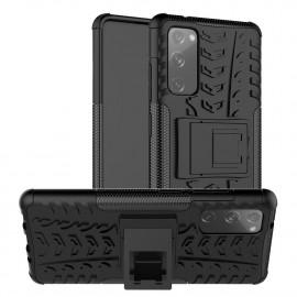 Rugged Kickstand Samsung Galaxy S20 FE Hoesje - Zwart