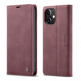 CaseMe Book Case iPhone 12 / 12 Pro Hoesje - Bordeaux