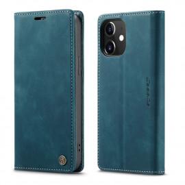 CaseMe Book Case iPhone 12 / 12 Pro Hoesje - Groen
