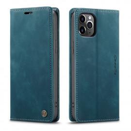 CaseMe Book Case iPhone 12 Pro Max Hoesje - Groen