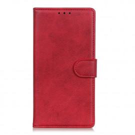 Luxe Book Case Motorola Moto G9 Plus Hoesje - Rood